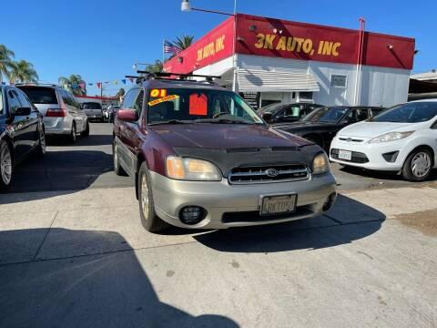 2001 Subaru Outback for sale at 3K Auto in Escondido CA