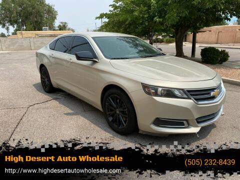 2014 Chevrolet Impala for sale at High Desert Auto Wholesale in Albuquerque NM