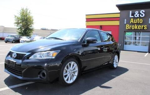 2012 Lexus CT 200h for sale at L & S AUTO BROKERS in Fredericksburg VA