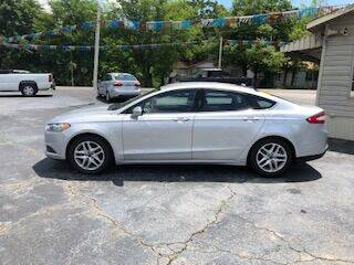 2016 Ford Fusion for sale at Howard Johnson's  Auto Mart, Inc. in Hot Springs AR