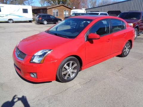 2012 Nissan Sentra for sale at COUNTRYSIDE AUTO INC in Austin MN