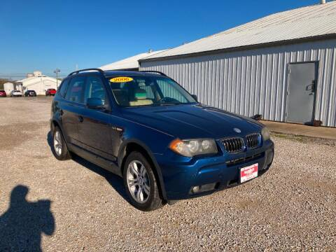 2006 BMW X3 for sale at BABCOCK MOTORS INC in Orleans IN