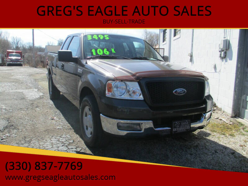 2005 Ford F-150 for sale at GREG'S EAGLE AUTO SALES in Massillon OH
