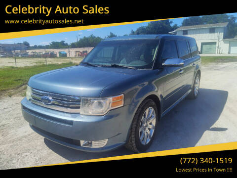 2010 Ford Flex for sale at Celebrity Auto Sales in Fort Pierce FL