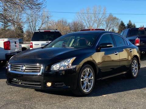 2014 Nissan Maxima for sale at North Imports LLC in Burnsville MN