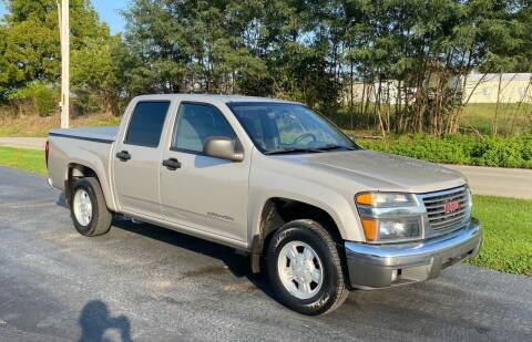 2004 GMC Canyon for sale at CarSmart Auto Group in Orleans IN