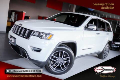 2019 Jeep Grand Cherokee for sale at Quality Auto Center in Springfield NJ