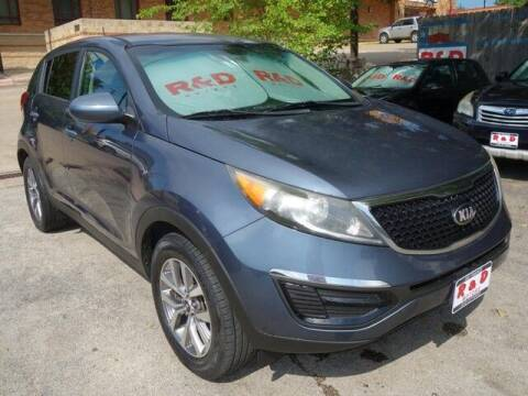 2015 Kia Sportage for sale at R & D Motors in Austin TX