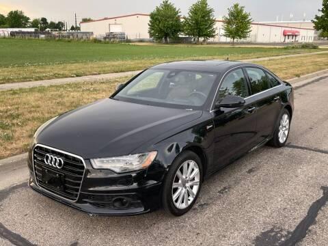2012 Audi A6 for sale at Geneva Motorcars LLC in Delavan WI