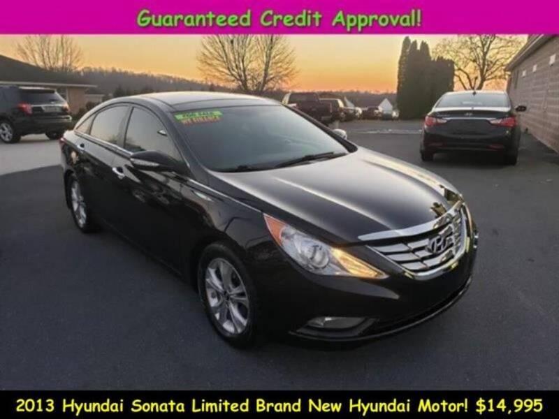 2013 Hyundai Sonata for sale at Fortnas Used Cars in Jonestown PA