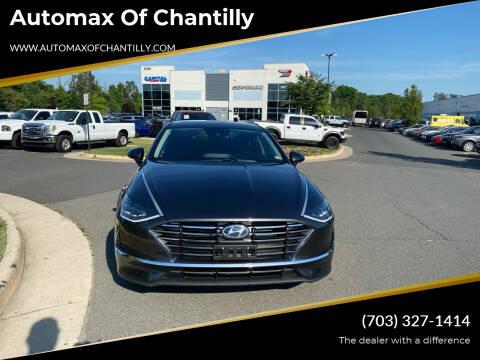 2021 Hyundai Sonata for sale at Automax of Chantilly in Chantilly VA