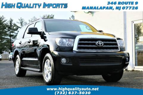 2014 Toyota Sequoia for sale at High Quality Imports in Manalapan NJ