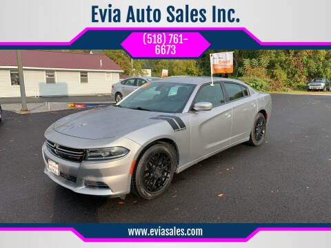 2015 Dodge Charger for sale at Evia Auto Sales Inc. in Glens Falls NY