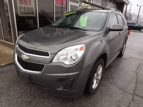 2012 Chevrolet Equinox for sale at Arko Auto Sales in Eastlake OH