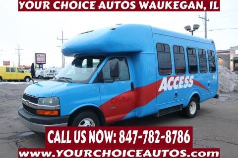 2010 Chevrolet Express Cutaway for sale at Your Choice Autos - Waukegan in Waukegan IL