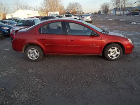 2001 Plymouth Neon for sale at BRETT SPAULDING SALES in Onawa IA