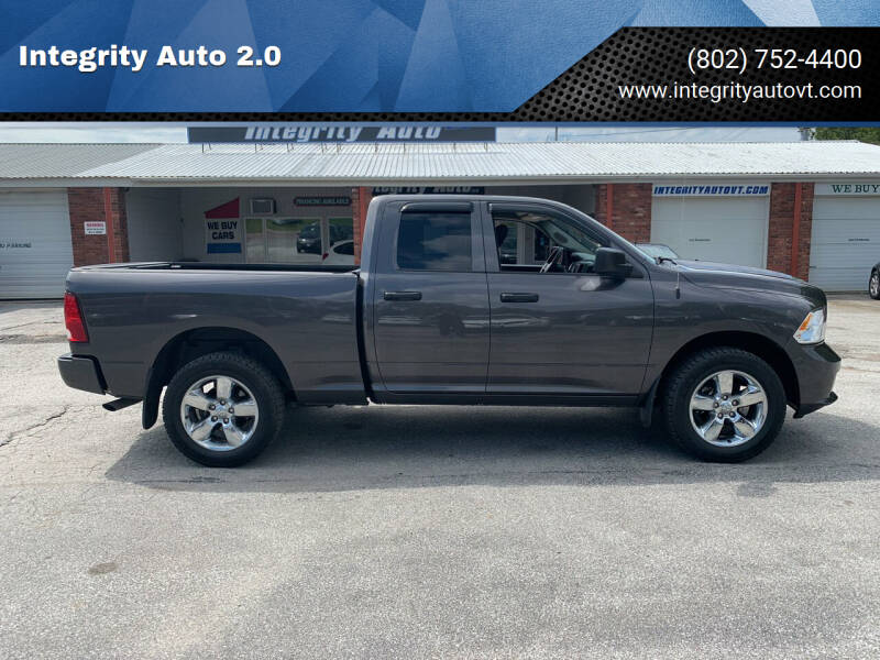 2019 RAM Ram Pickup 1500 Classic for sale at Integrity Auto 2.0 in Saint Albans VT