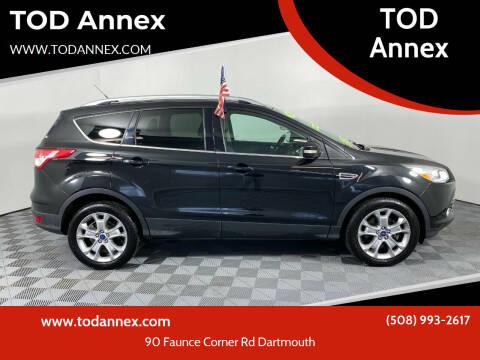2014 Ford Escape for sale at TOD Annex in North Dartmouth MA
