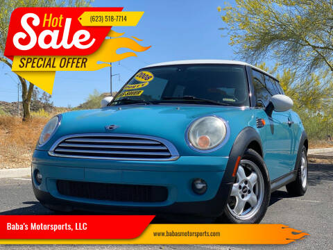 2008 MINI Cooper for sale at Baba's Motorsports, LLC in Phoenix AZ