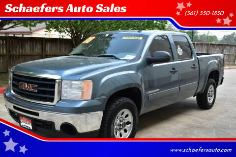 2008 GMC Sierra 1500 for sale at Schaefers Auto Sales in Victoria TX