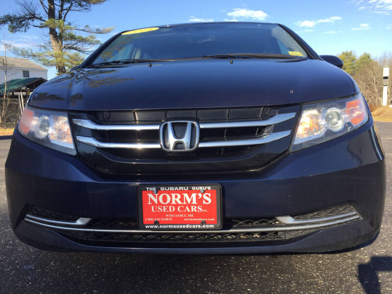 2014 Honda Odyssey for sale at NORM'S USED CARS INC - Trucks By Norm's in Wiscasset ME