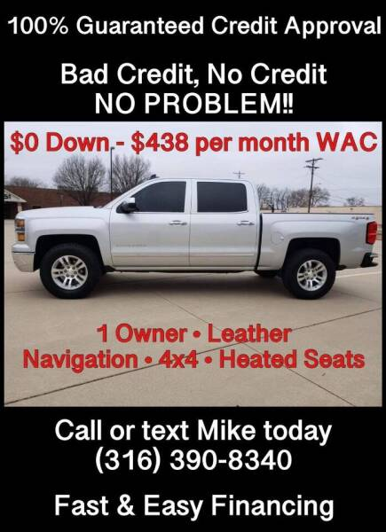 2015 Chevrolet Silverado 1500 for sale at Affordable Mobility Solutions, LLC - Standard Vehicles in Wichita KS