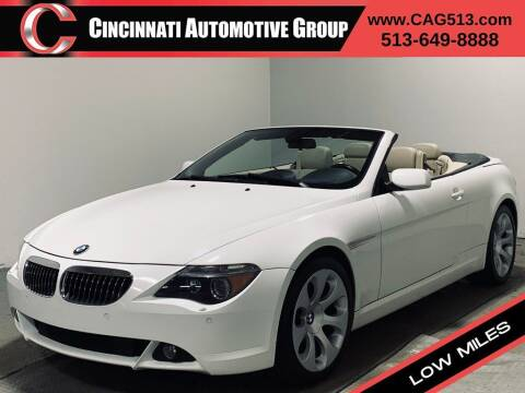 2005 BMW 6 Series for sale at Cincinnati Automotive Group in Lebanon OH