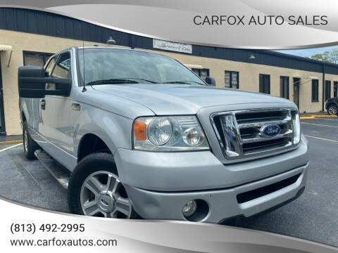2008 Ford F-150 for sale at Carfox Auto Sales in Tampa FL