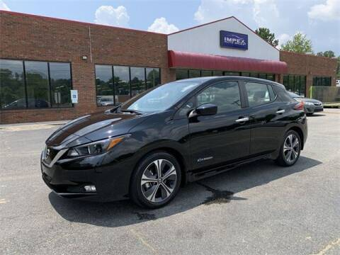 2019 Nissan LEAF for sale at Impex Auto Sales in Greensboro NC