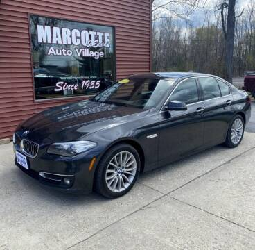 2015 BMW 5 Series for sale at Marcotte & Sons Auto Village in North Ferrisburgh VT
