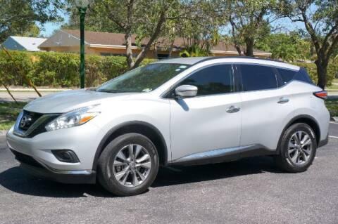 2018 Nissan Murano for sale at Start Auto Liquidation Center in Miramar FL