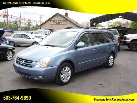 2007 Kia Sedona for sale at Steve & Sons Auto Sales in Happy Valley OR