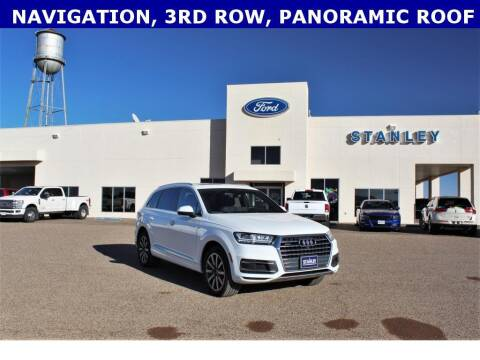 2017 Audi Q7 for sale at STANLEY FORD ANDREWS in Andrews TX