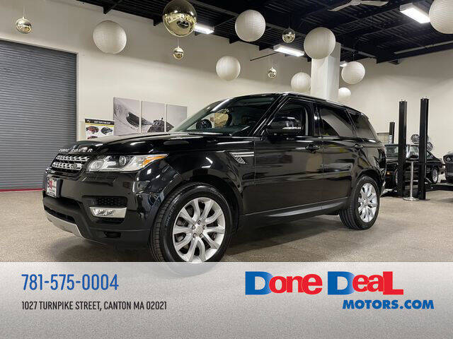 2014 Land Rover Range Rover Sport for sale at DONE DEAL MOTORS in Canton MA