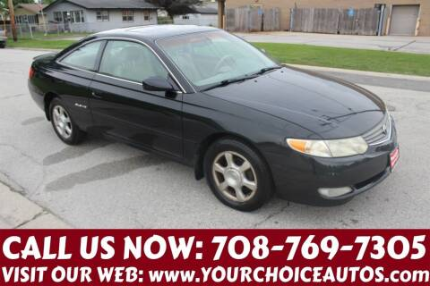 2003 Toyota Camry Solara for sale at Your Choice Autos in Posen IL