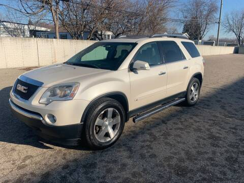 2009 GMC Acadia for sale at A & R Auto Sale in Sterling Heights MI