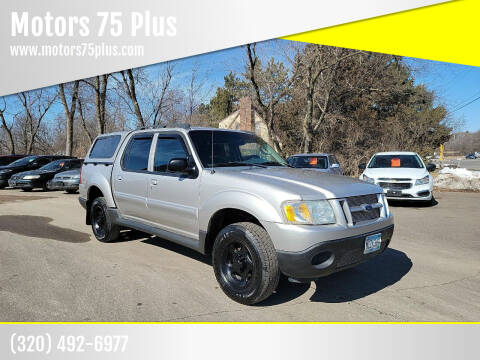 2004 Ford Explorer Sport Trac for sale at Motors 75 Plus in Saint Cloud MN