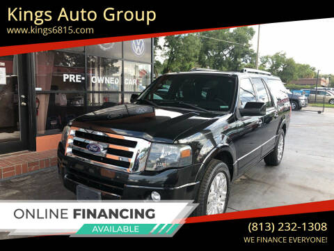 2013 Ford Expedition EL for sale at Kings Auto Group in Tampa FL