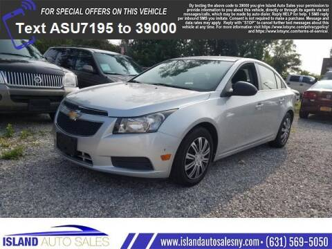 2011 Chevrolet Cruze for sale at Island Auto Sales in E.Patchogue NY