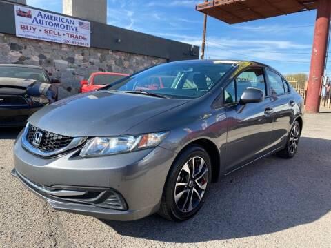 2013 Honda Civic for sale at American Automotive , LLC in Tucson AZ