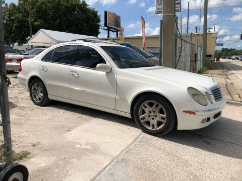 2003 Mercedes-Benz E-Class for sale at Mego Motors in Orlando FL