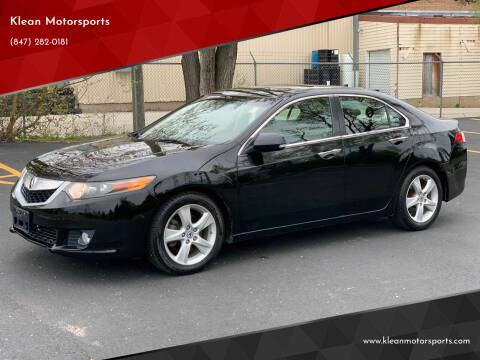 2009 Acura TSX for sale at Klean Motorsports in Skokie IL