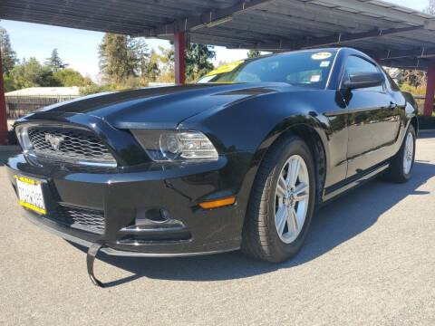 2014 Ford Mustang for sale at ALL CREDIT AUTO SALES in San Jose CA