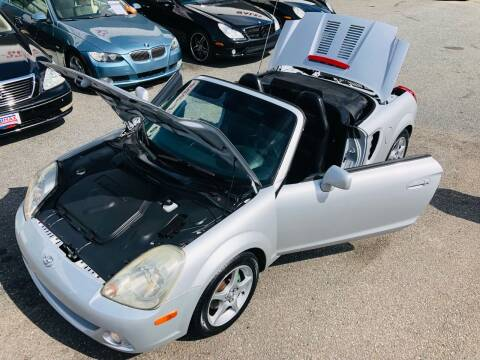 2003 Toyota MR2 Spyder for sale at Trimax Auto Group in Norfolk VA