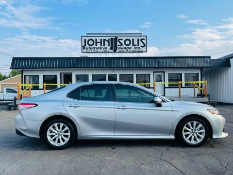 2018 Toyota Camry for sale at John Solis Automotive Village in Idaho Falls ID