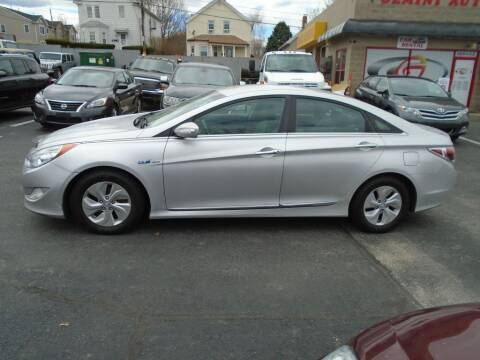 2013 Hyundai Sonata Hybrid for sale at Gemini Auto Sales in Providence RI