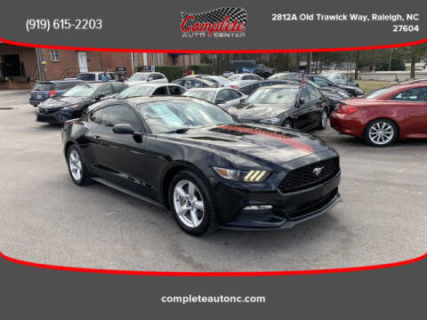 2017 Ford Mustang for sale at Complete Auto Center , Inc in Raleigh NC