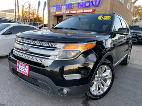 2012 Ford Explorer for sale at Drive Now Autohaus in Cicero IL