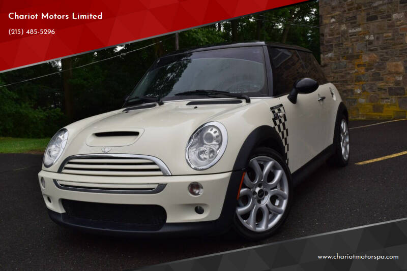 2006 MINI Cooper for sale at Chariot Motors Limited in Feasterville Trevose PA