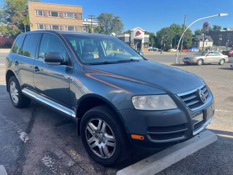 2004 Volkswagen Touareg for sale at Capitol Hill Auto Sales LLC in Denver CO